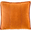 100% Pre Washed Linen Cushion - Burnt Orange