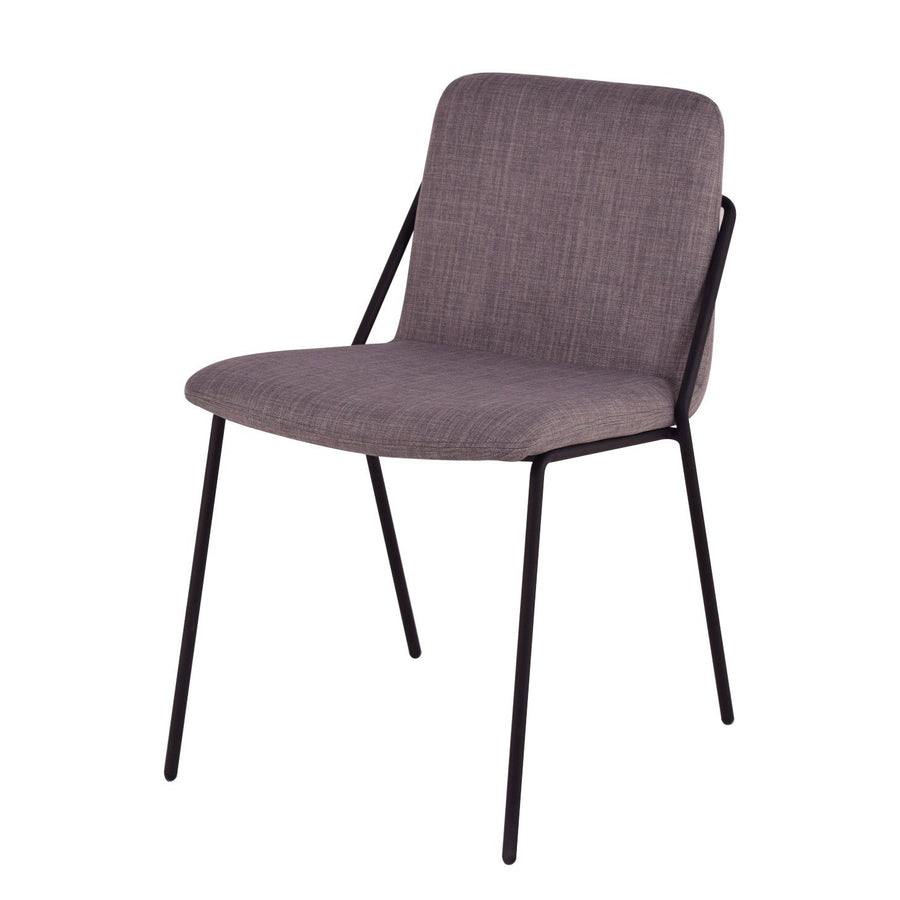 Max Dining Chair in Dark Grey
