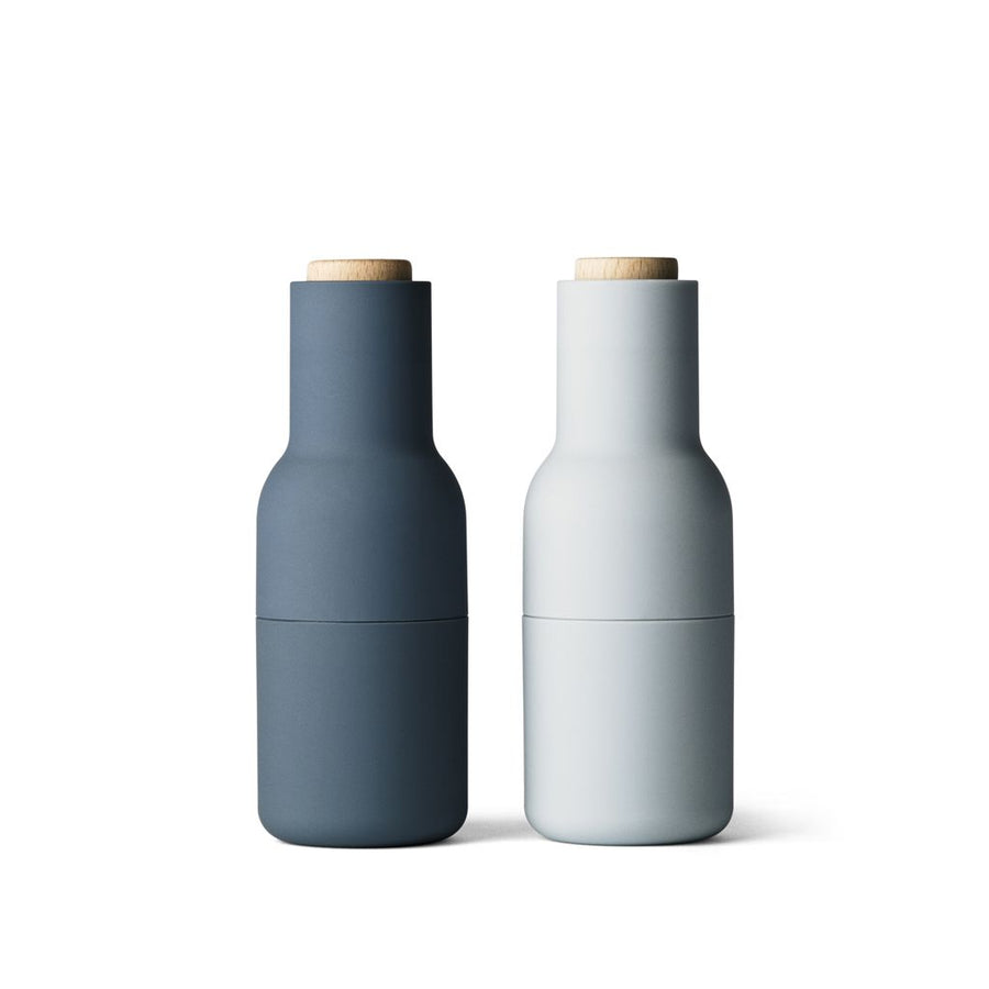 Menu Salt and Pepper Bottle Grinders Set in Classic Blue