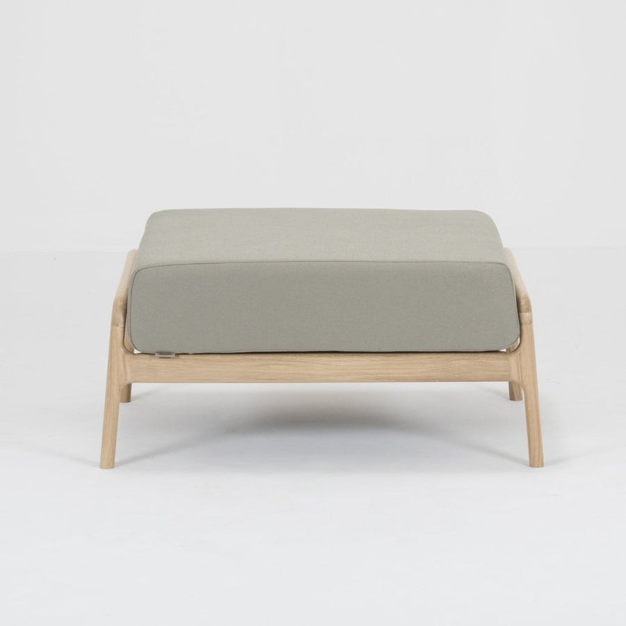 Fawn Oak Footstool - Olive Everlast