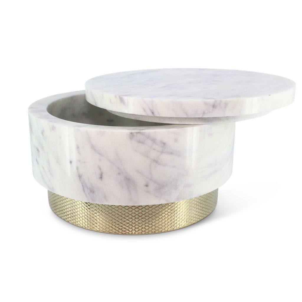 buy Mr Pinchy Fox Canister - Diamond Pattern/White Marble online