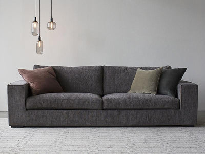 buy Calma Sofa 3 Seater Dark Grey online