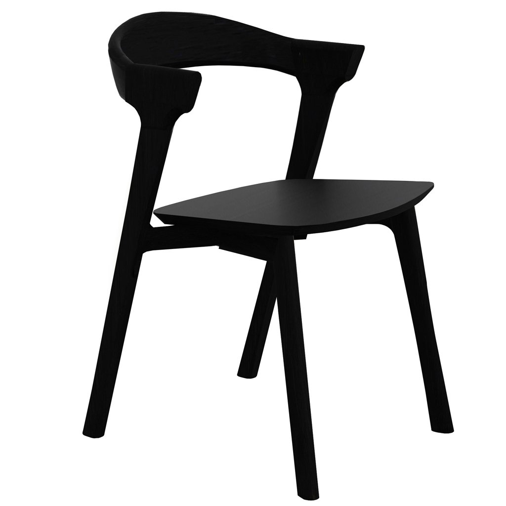 buy Ethnicraft Oak Bok Dining Chair - Black online