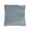100% Cotton Silver Grey Velvet Cushion