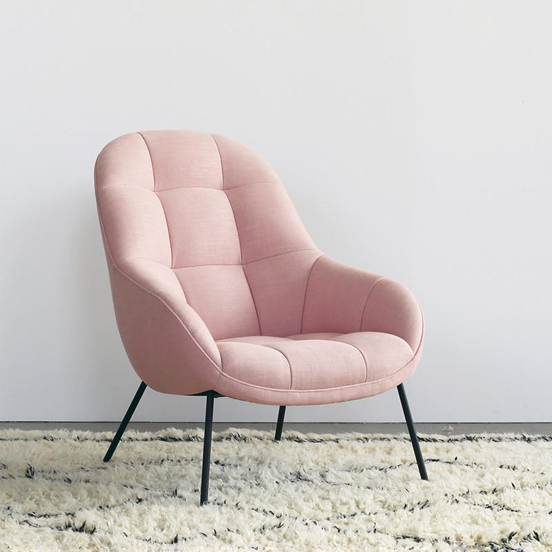 Mango Chair in Blush Pink