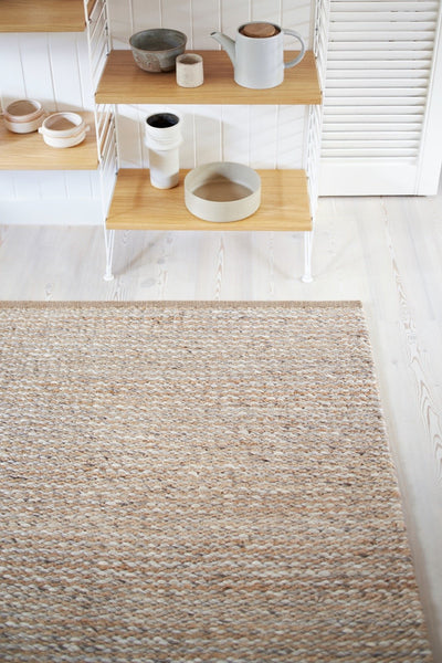 Natural and Pumice Kalahari - Armadillo Floor Rug