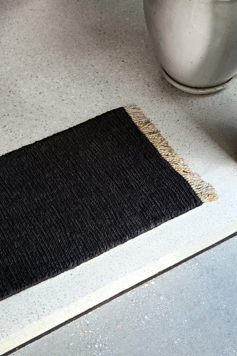 Charcoal Sahara - Entrance Mat