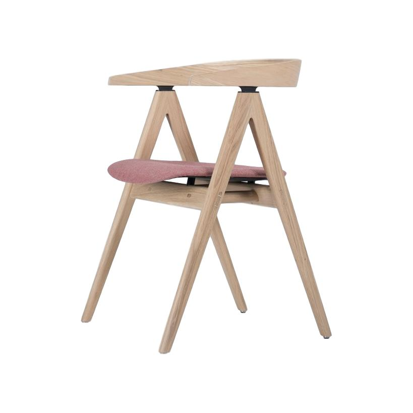 buy Ava Oak Chair in Barbican Fabric online