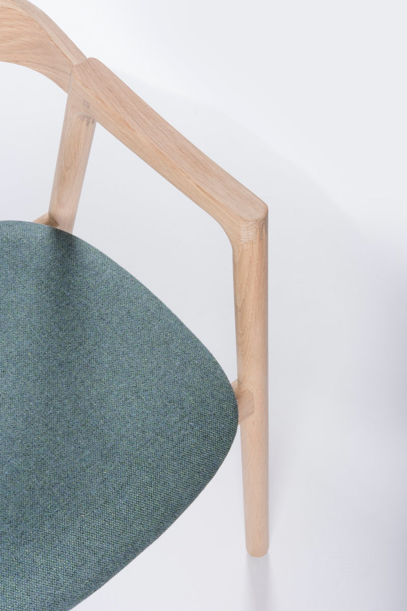 Muna Chair in Greenford Fabric