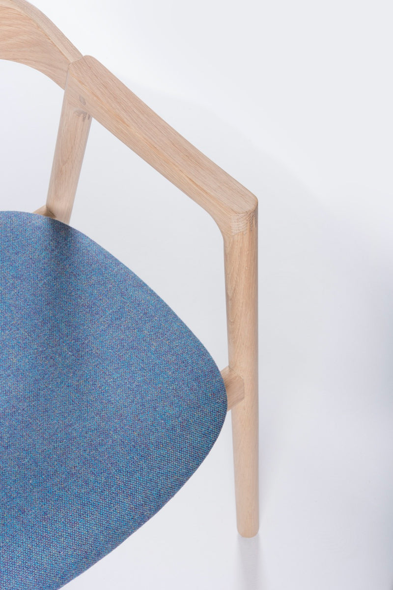 Muna Chair in Russel Fabric