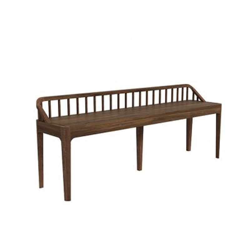 buy Ethnicraft Walnut Spindle Bench online