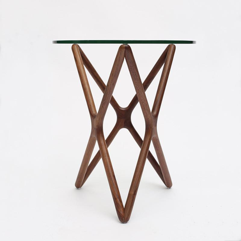 Triple-X Side Table by Sean Dix