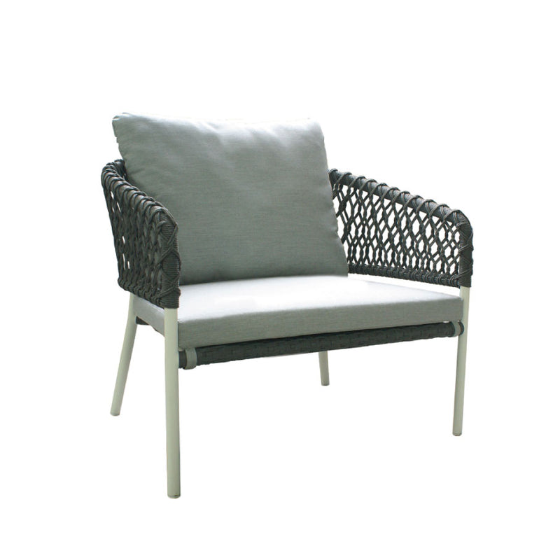 buy La Vie Lounge Chair - Light Grey online