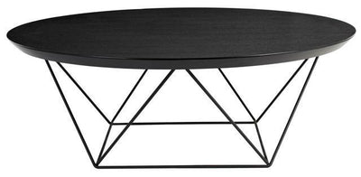 Como Coffee Table in Black Oak