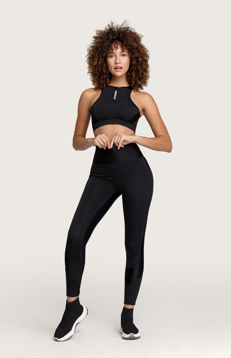 Wilma High Waisted Legging - Noir