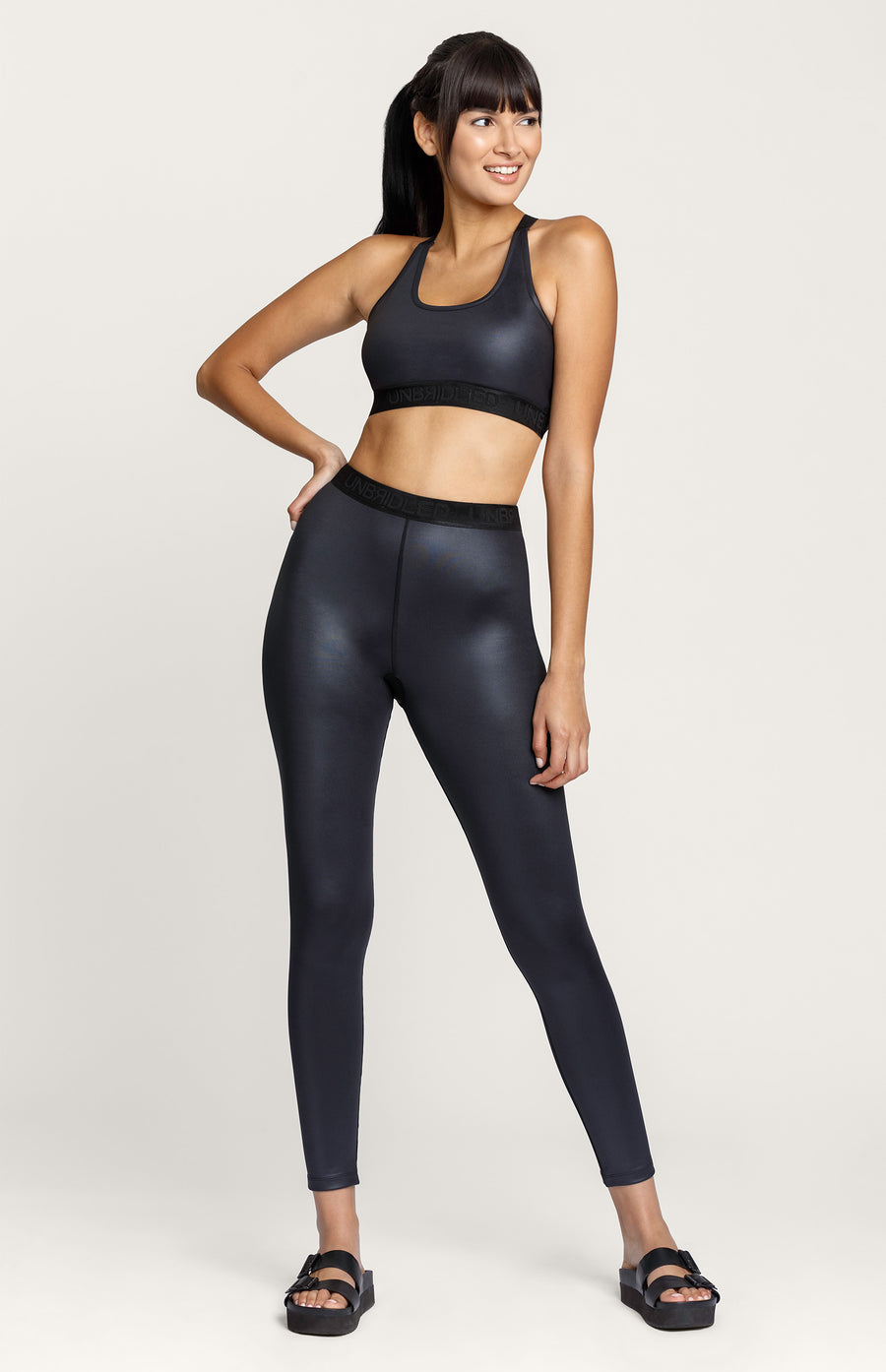 Haley Glossy Legging