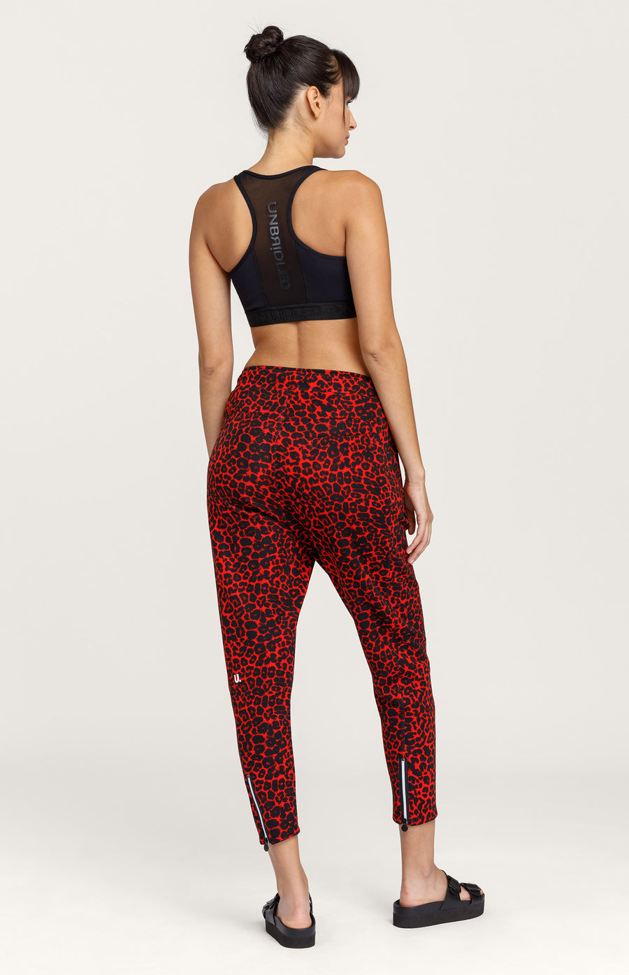 Eleanor Leopard Jogger