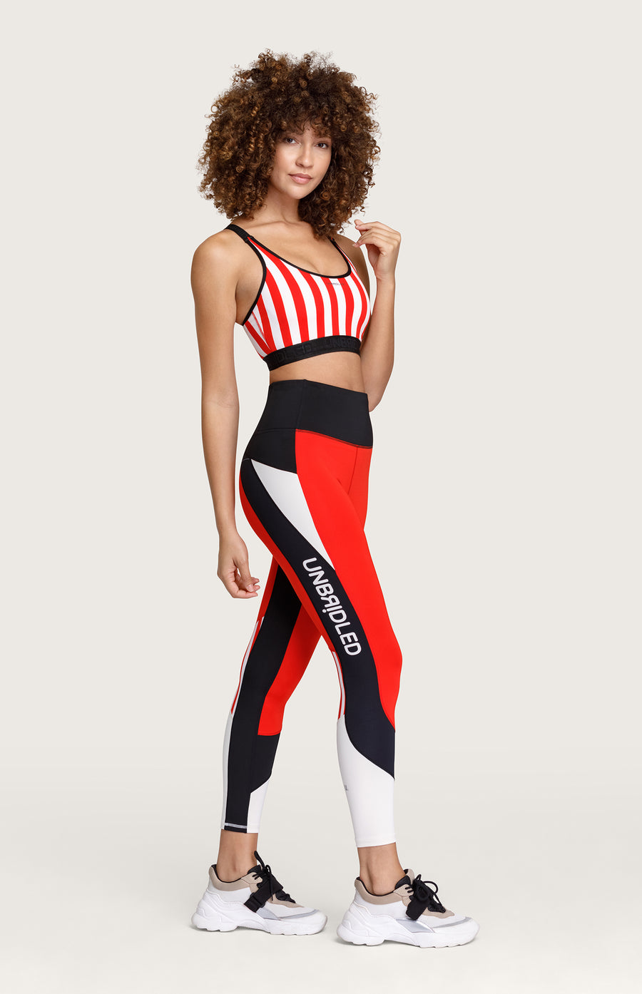 Wilma High Waisted Legging - Folie Red
