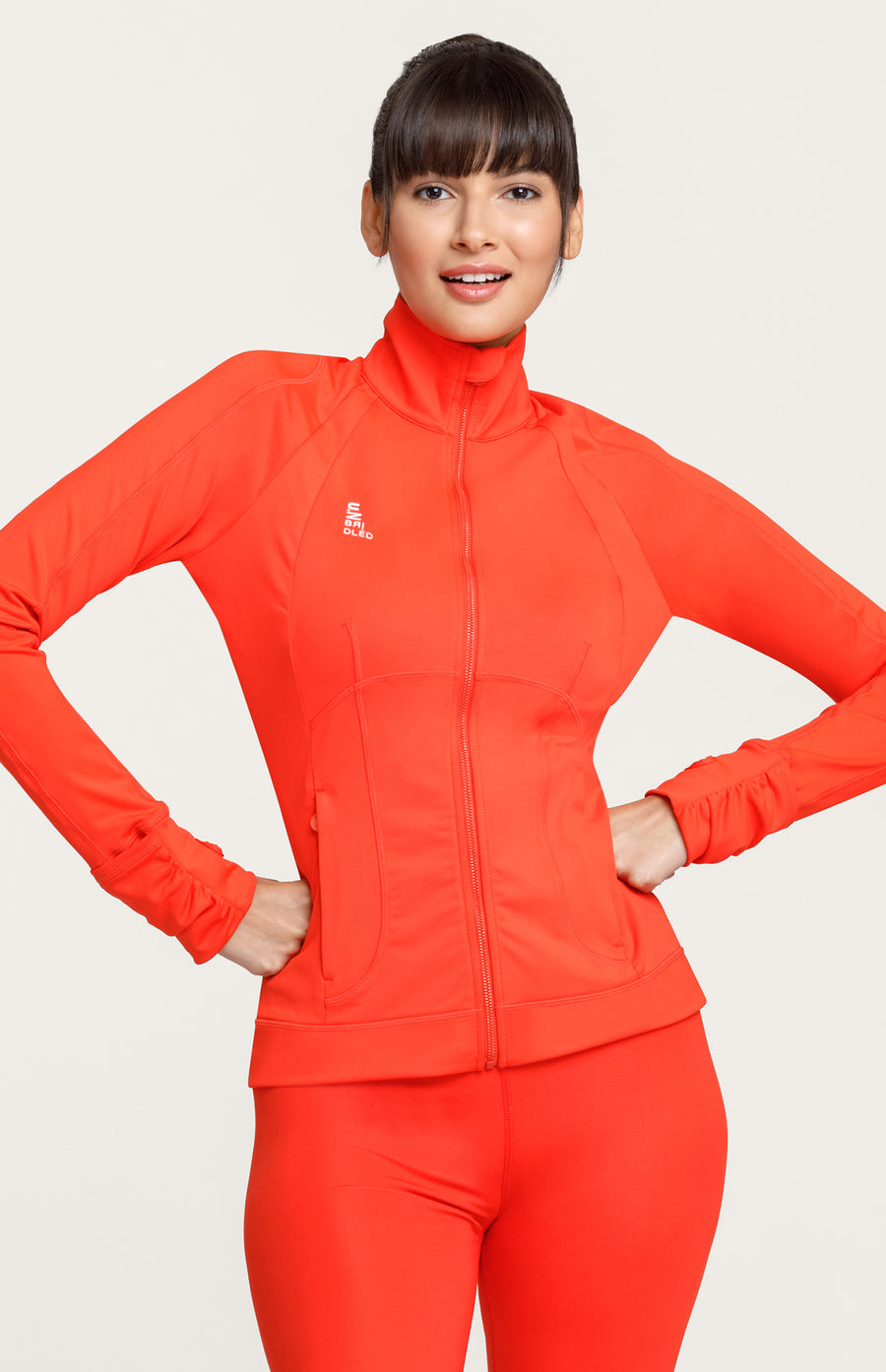 Florence Trainer Jacket - Fiesta Red