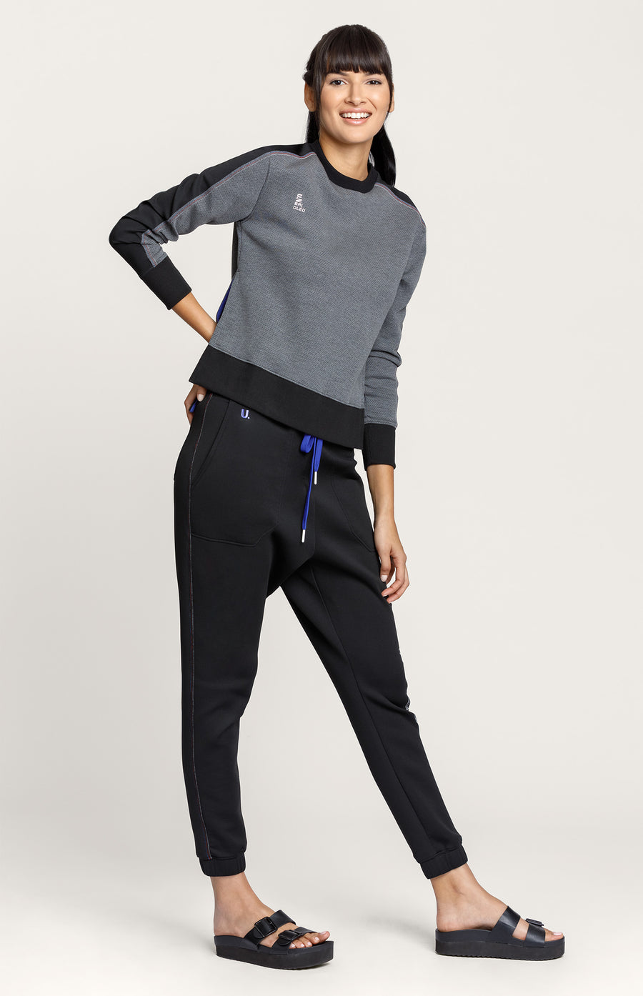 Olympe Sweatshirt - Charcoal Heather