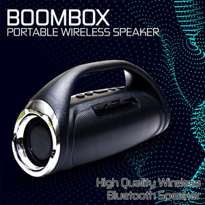 Boom Box Portable Bluetooth Speaker