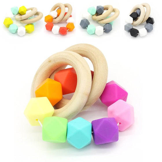 Organic Wood Teether