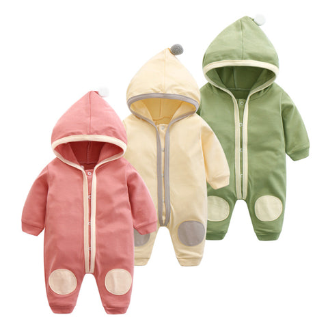 4 Color Newborn Baby Boys and Girls Jumpsuit 2019 Spring Autumn