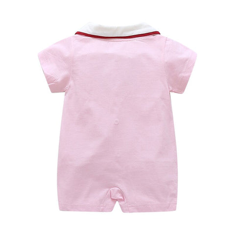 Summer New Style Short Sleeved Baby Rompers Newborn Baby Girls and Boys