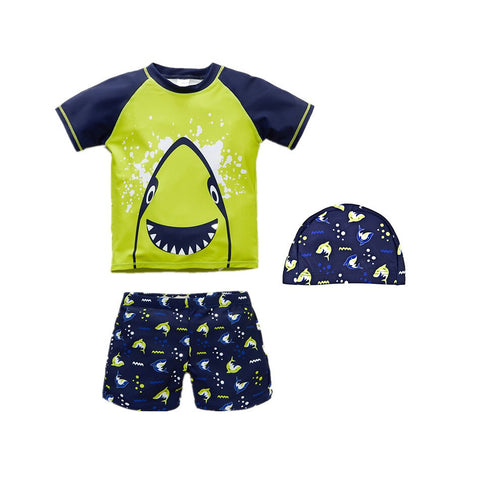 Summer Swimwear Baby Boy Swimsuit Two Piece