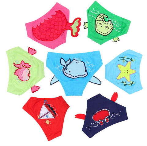 Boys and Girls Swimming Trunks Baby Swimsuit For Kids
