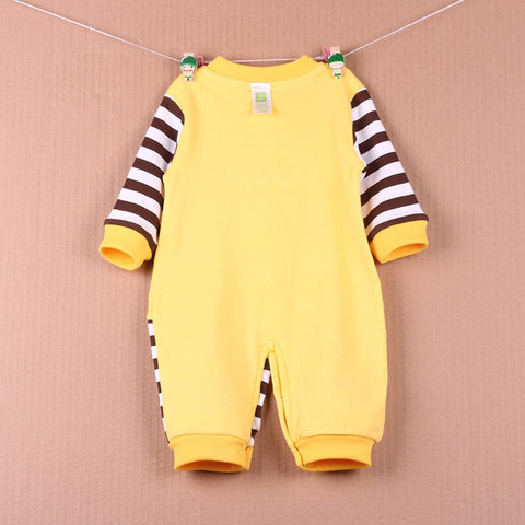 100% Cotton Newborn Baby Boys Autumn Rompers