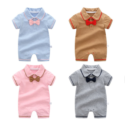 Newborn Baby Boys and Girls Pure Cotton Go Out Rompers