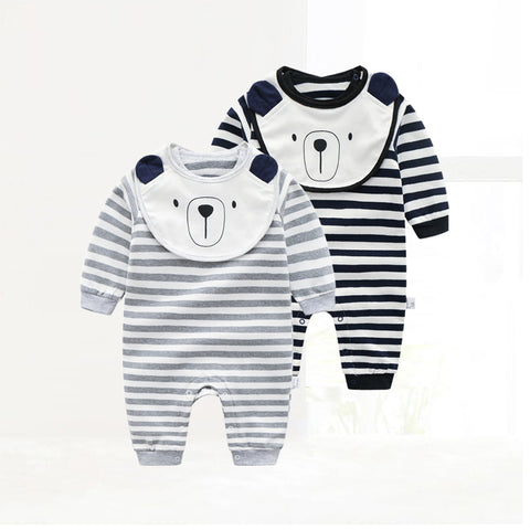 New Born Baby Spring-Autumn Cotton Rompers