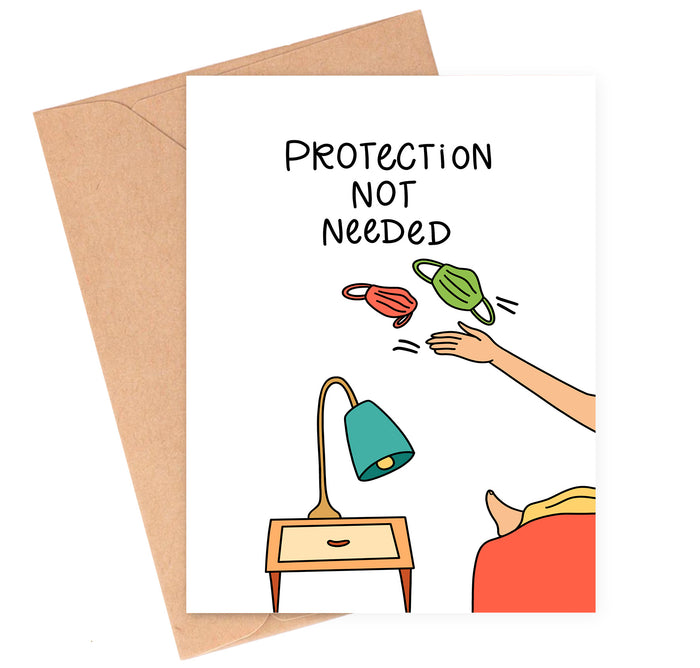 No Protection Love Card