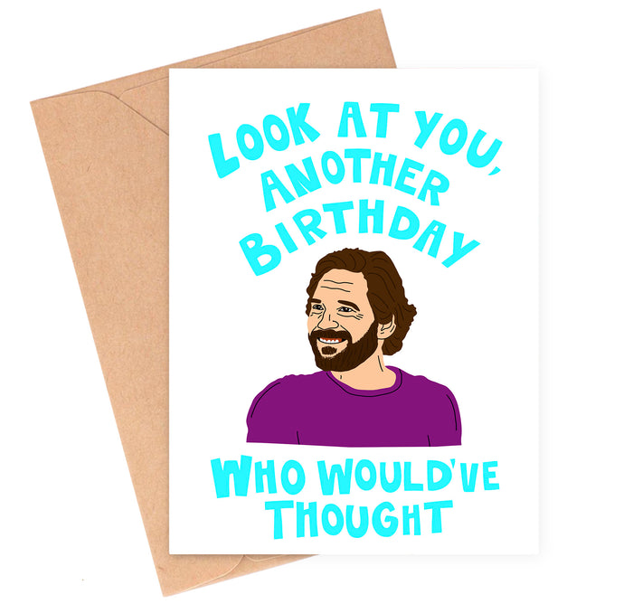 Paul Rudd Birthday Card