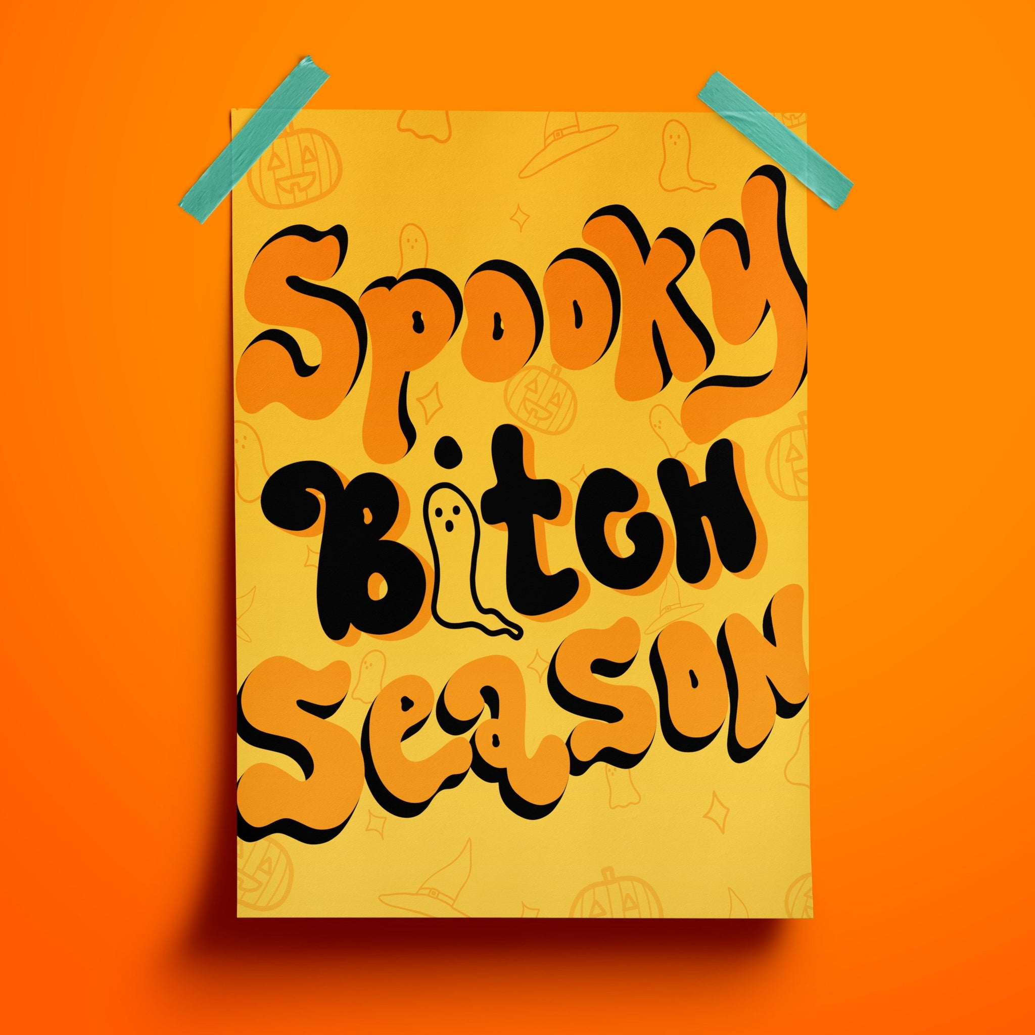 Spooky Bitch Season Print - Siyo Boutique