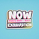 Now Thats Exhaustion Holographic Vinyl Sticker