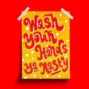 Wash Your Hands Poster - Siyo Boutique