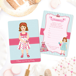 Lucy Invitations - Set of 12