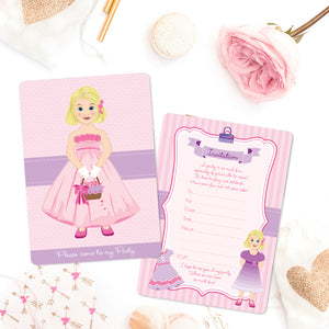 Rosie Invitations - Set of 12