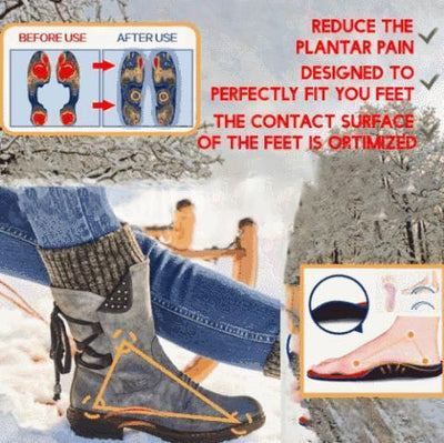 #1 BEST SELLER YESHERBOOTS™ Women Arched Support Warm Snow Boots