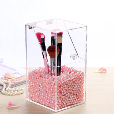 TRANSPARENT DUST-PROOF BRUSH CASE