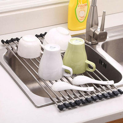 Roll Up Dish Drying Rack