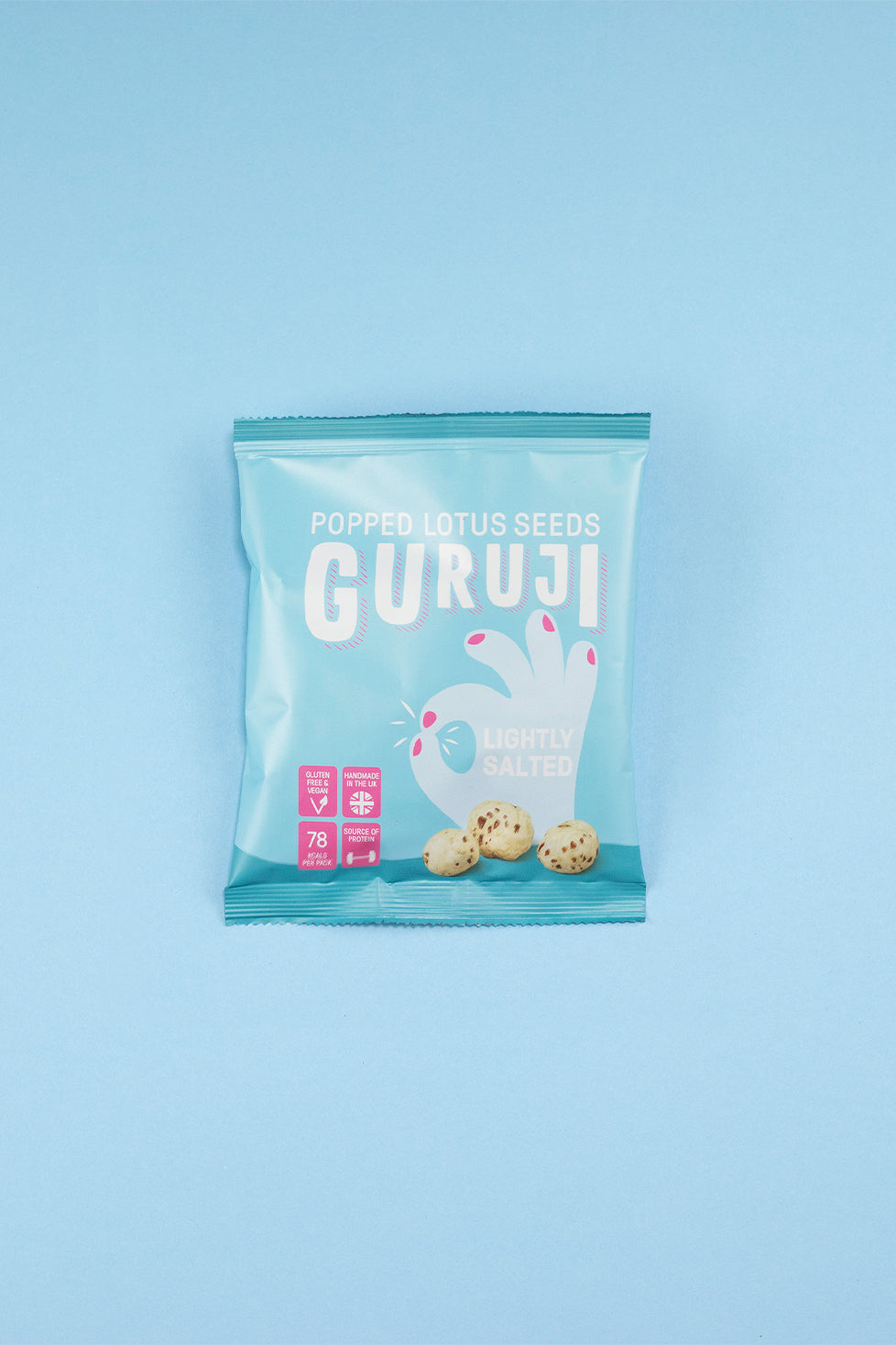Lightly Salted 12 x 17g Packs - Pops Guruji Snacks