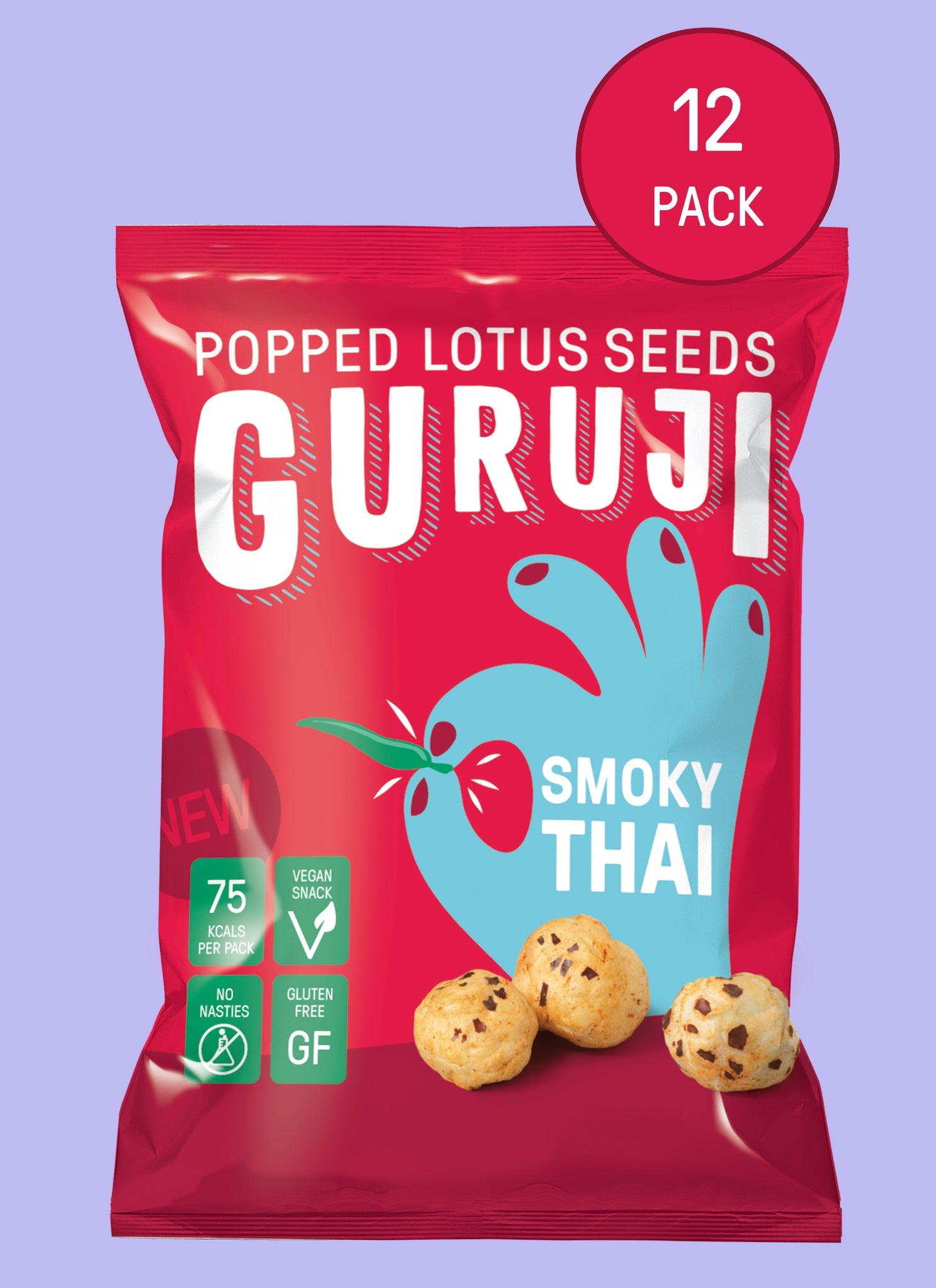 Smoky Thai 12 x 17g Packs - Pops Guruji Snacks