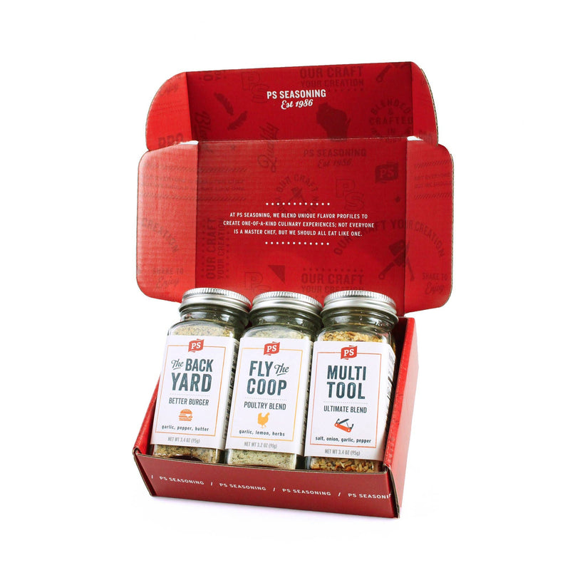 PS Seasoning - The Grillfather - Grilling Box