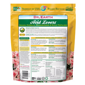 Organic and Natural Acid Lover Fertilizer, Dr. Earth