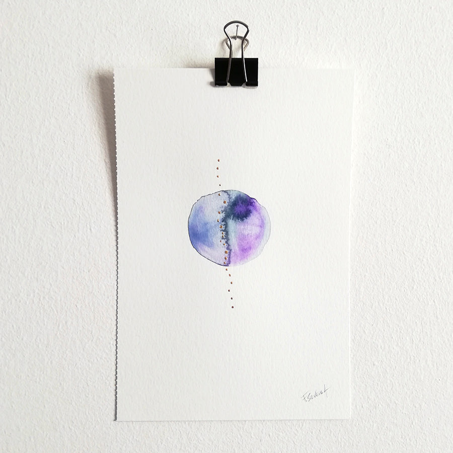 Uno nº 16 - Original watercolor