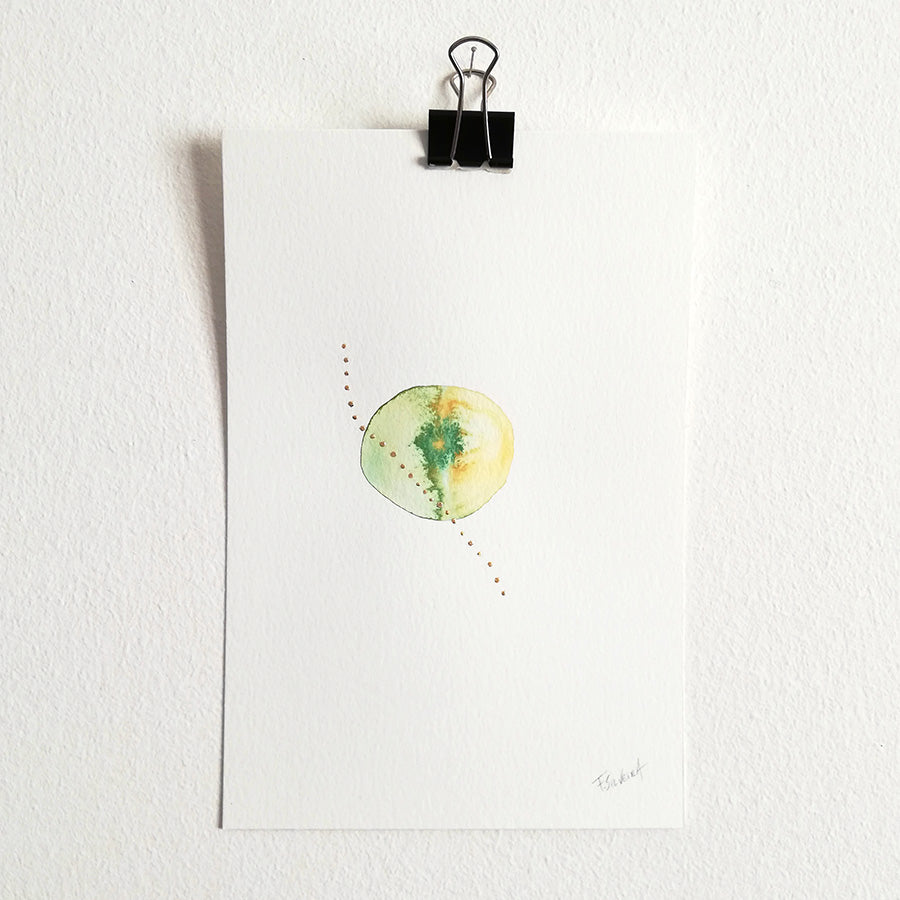 Uno nº 20 - Original watercolor