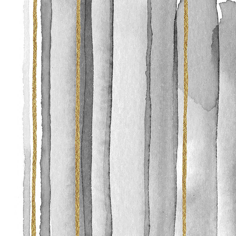Vertical lines with gold